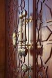 Poignées de porte en bronze photo stock