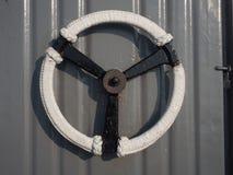 Poignées de porte sur le cuirassé Images libres de droits