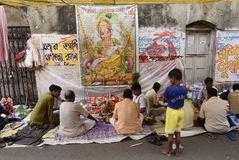 Poila Boisakh стоковые фотографии rf
