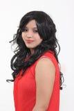 Poils artificiels de coiffures de femmes Image libre de droits