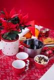 Poinçon de Glogg pour Noël Image stock