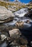 Poin der Ansicht, der Wasserfall lizenzfreie stockfotos