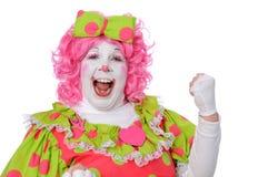 Poing de pompage de clown images libres de droits