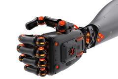 Poing robotique Photographie stock libre de droits