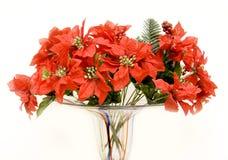 Poinsettia-Blumenstrauß Stockfotografie