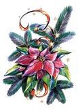 Poinsettias Photo stock
