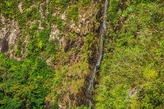Point Îles Maurice de veiw de gorges photo stock