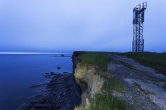 Point Aconi Lighthouse Stock Image