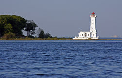 Point Albino Lighthouse Stock Image
