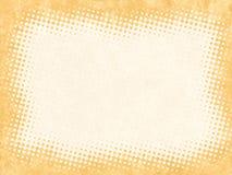 Point antique de texture encadré Photographie stock libre de droits
