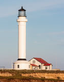 Point Arena, California. Point Arena lighthouse on the Pacific coast of California Royalty Free Stock Image