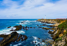 Point Arena Lighthouse Royalty Free Stock Images