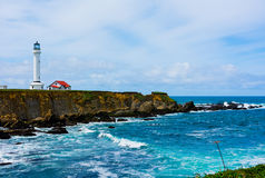 Point Arena Lighthouse Royalty Free Stock Photography