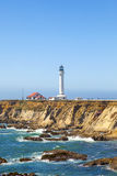 Point Arena Lighthouse in California Stock Images