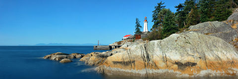 Point Atkinson Light House Stock Photos