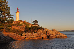 Point atkinson lighthouse Stock Photo
