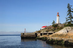 Point Atkinson Lighthouse, British Columbia Royalty Free Stock Photos