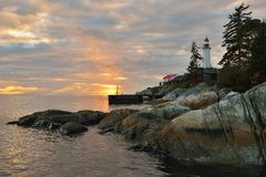 Point Atkinson Lighthouse Royalty Free Stock Images