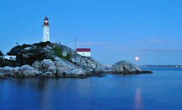Point atkinson lighthouse, west Vancouver royalty free stock image