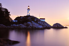 Point atkinson lighthouse, west Vancouver Stock Image