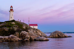 Point Atkinson Lighthouse, West Vancouver, Canada Stock Photography