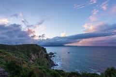 Point Auckland de Takatu photos libres de droits