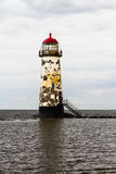 Point of Ayr Lighthouse. Royalty Free Stock Image