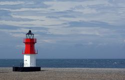 Point of Ayre Lighthouse Royalty Free Stock Images