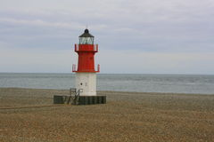 Point of Ayre lighthouse Royalty Free Stock Photo