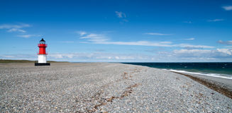 Point of Ayre Lighthouse, Isle of Man Stock Images