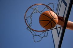 Point in Basketball Royalty Free Stock Photos