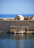 The Point Battery of Fort Ricasoli in Kalkara peninsula, Malta Stock Image