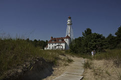 Point Beach Lighthouse Royalty Free Stock Image