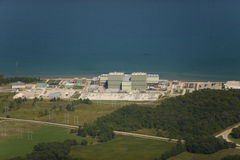 Point beach nuclear power plant Royalty Free Stock Images
