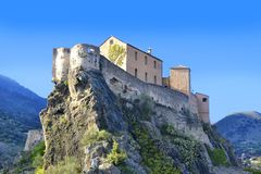 Free Point Belvedere, Citadel, Corte, Corsica, France Stock Photography - 120792062