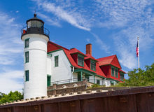 Point Betsie LIght Stock Image
