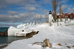 Point Betsie Lighthouse stock photography