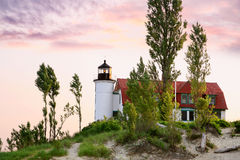 Point Betsie Lighthouse Royalty Free Stock Images