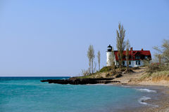 Point Betsie Lighthouse, built in 1858 Stock Image