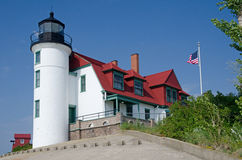 Point Betsie Lighthouse, Michigan Royalty Free Stock Photos