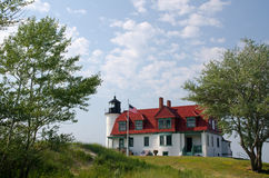 Point Betsie Lighthouse, Michigan Royalty Free Stock Images