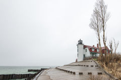 Point Betsie Lighthouse Royalty Free Stock Photo