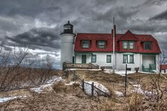 Point Betsie Lighthouse Stock Photos