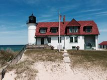Point Betsie Lighthouse Stock Images