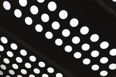 Point blanc de cercle d'abrégé sur léger trou illustration stock