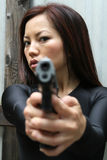 Point blank2 Stock Photography
