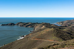 Point Bonita coast, California Royalty Free Stock Photo