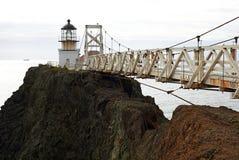 Point Bonita Lighthouse. Natural Recreation Area San Francisco royalty free stock photography