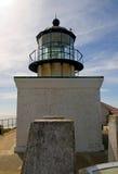 Point bonita lighthouse. In marin headlands stock photos