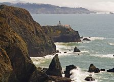 Point Bonita Lighthouse Stock Photography
